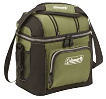 Coleman 9-Can Soft Cooler with Removable Liner, Green