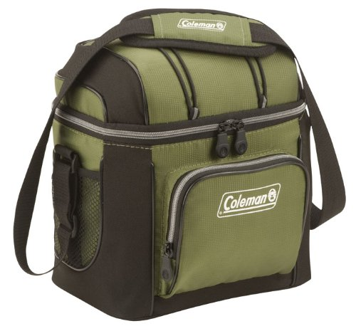 Coleman 9 Can Cooler, Green