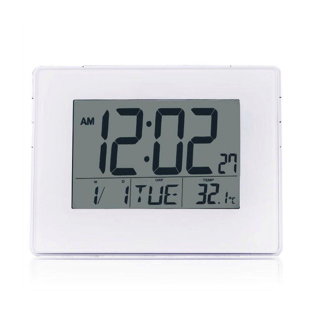 Despertador ZHAOJING Dual Use Alarm Clock Reloj de Pared Calendar Night Light Termómetro Bedside Electronic Alarm Clock: Amazon.es: Hogar