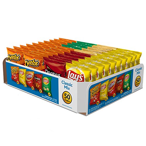 Frito-Lay Classic Mix Variety Pack, 1 Oz Bags (50 Count)