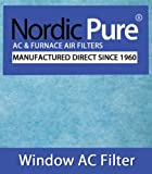 Nordic Pure 15x24-WAC-HP44pads Window Air Conditioner Filter with 15 by 24 Pads by Nordic Pure