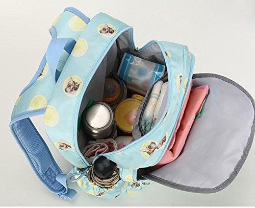 Mummy packs hombros trasero transpirable bolsa de bebé exterior cómodo incorporado en el aislamiento bolsa de espalda bolsa de leche ( Color : Verde ) Purple