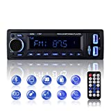 Bluetooth Car Stereo, 1 Din Car Radio Audio, Stereo FM Radio 4x60W Car