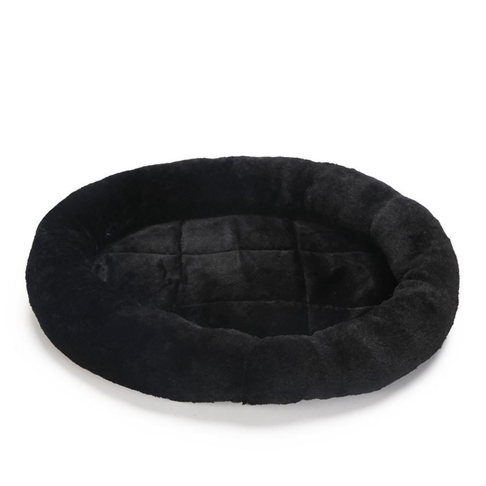Weiwei Dog bed Short Plush Kennel mat cat bed cat Nest, 50  50cm