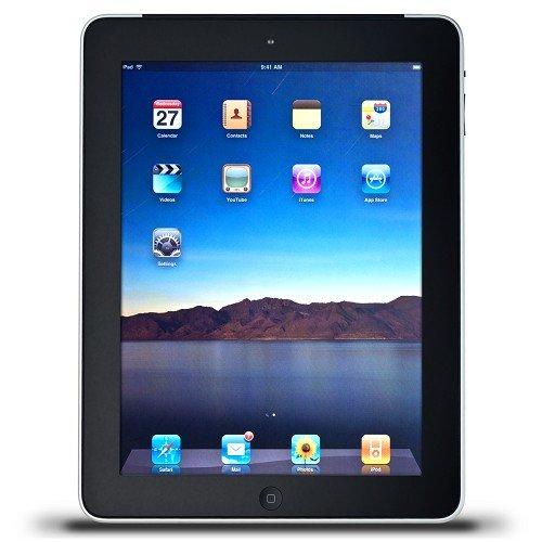 """Apple iPad 2 9.7"""" 2nd Generation at&T WiFi + 3G 16GB Bluetooth Tablet - Black"""