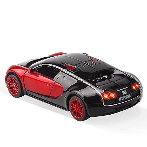 new style 1 32 bugatti veyron alloy diecast car model collection light sound red by zhmy buy. Black Bedroom Furniture Sets. Home Design Ideas