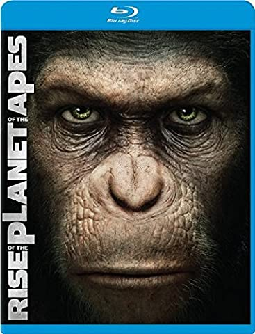 Rise Of The Planet Of The Apes, Blu-Ray & DVD (2 pack disk) (Planet Of Apes 2 Pack)