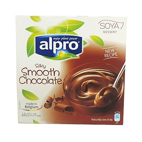 Chocolat Lisse Alpro - Soyeux - 4x125g (caisse De 6)