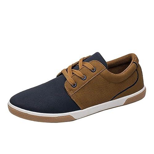 YAANCUNN Zapatillas de Gimnasia para Hombre Zapatillas de Deporte Gimnasio Sneakers: Amazon.es: Zapatos y complementos