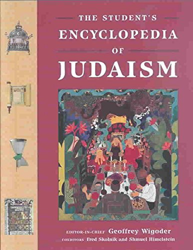 Read Online The Student's Encyclopedia of Judaism pdf