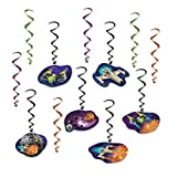 Beistle Spaceship Whirls | Space & Alien Party Decorations (3-Pack)