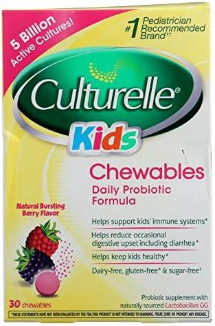 Culturelle Kids Chewable Probiotic 30