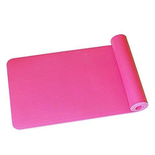 Xueliee Yoga Mat-extremely confortable antidérapant Extra long 6mm d'épaisseur + sangle de transport