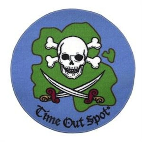 Child to Cherish Time Out Spot Rug, Pirate