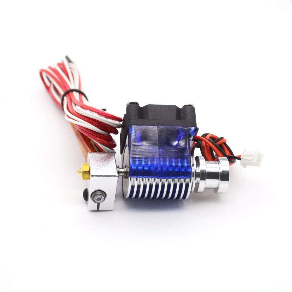 Short-Distance J-Head V6 Hot End Complete Kit with 0.3 Nozzle for 3mm Filament RoboMall