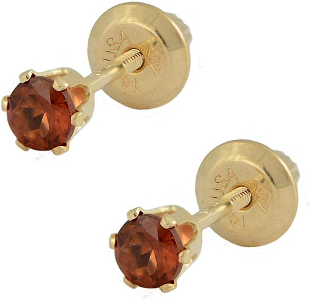 PRECIOUS Zodiac star sign Pisces Aries Leo Scorpio natural stones. January birthstone earrings garnet earrings sterling silver earrings