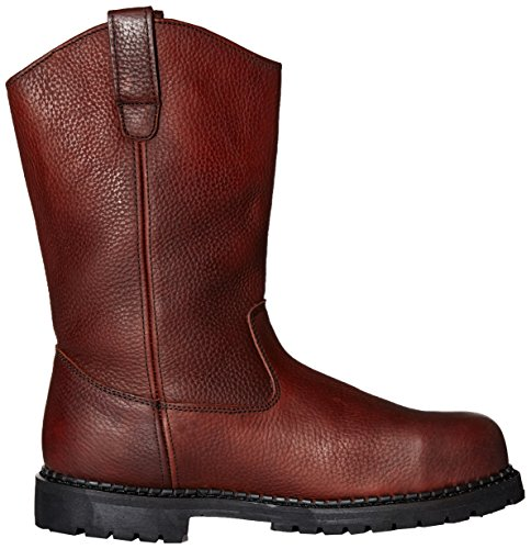 Georgia Boot Mens Oljekanna-m Georgia Stål Tå Arbete Boot Mörkbrun