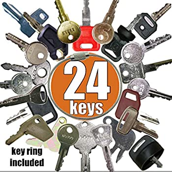 Handshop Replacement Keys for CAT Caterpillar Heavy Equipment 2 Pack