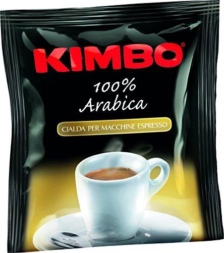 Kimbo Coffee ESE Espresso Pods (100% Arabica, 100 Pods)