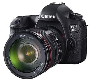 Canon EOS 6D - Cámara Digital (20.2 MP, SLR Body, CMOS, Canon EF ...