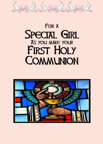 Communion Girl. The message inside this cards reads