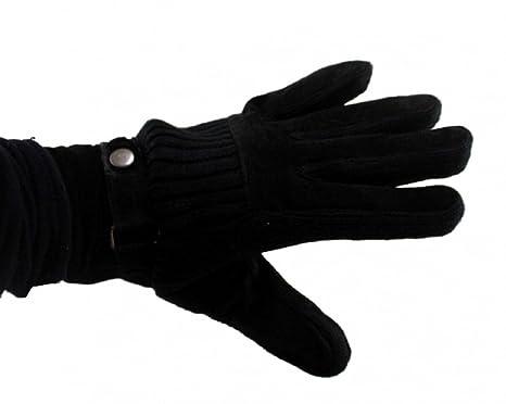 dbe66fd072160e NFP Damen Lederimitat Handschuh Leder Handschuhe Lederhandschuhe schwarz  Gr. 8 M + 9 L: Amazon.de: Bekleidung