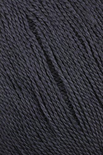 - Juniper Moon Findley Lace Weight Yarn Col 3 Graphite Luxury Yarn 1sk