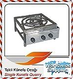 Kunafa Konafa Kanafeh Kunafah Kunefe Single Stove for cooking Quarry works with PROPANE GAS ( LPG )
