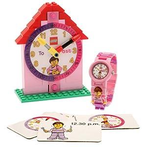 Lego Reloj, diseño Profesor de Tiempo, Color Rosa 9005039 3