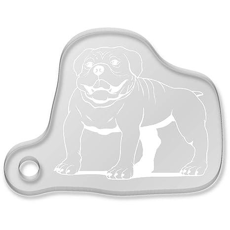 Azeeda Bulldog Inglés Llavero (AK00011557): Amazon.es ...