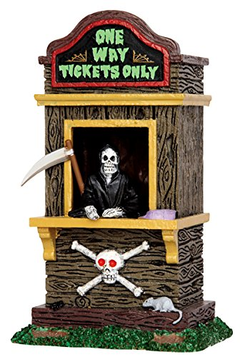 Lemax Spooky Town Ticket Booth Kiosk # 43066 -