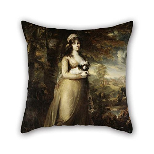 Room Roll Winter Wonderland (Throw Cushion Covers Of Oil Painting Carl Fredrik Von Breda - Teresa Vandoni, Italian Singer At The Royal Opera, Stockholm For Couples Family Play Room Wife Kids Girls Club 20 X 20 Inches / 50 By)