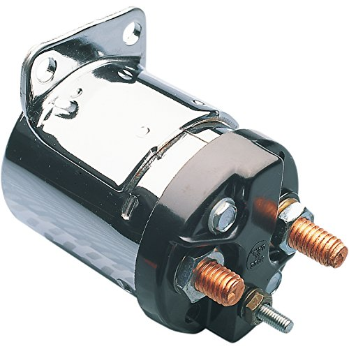 Accel Starter Solenoid for Single Bracket for 4 Speed models - One Size
