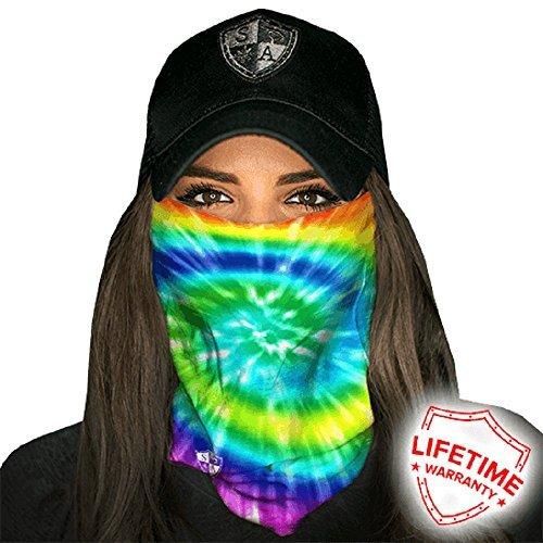 SA Company Face Mask Shield Protective Balaclava Bandana Microfiber Tube Neck Warmer (Rave)
