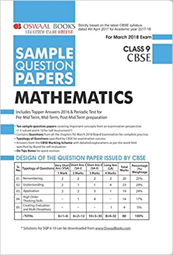 Oswaal Books For Class 9 Term 2 Pdf