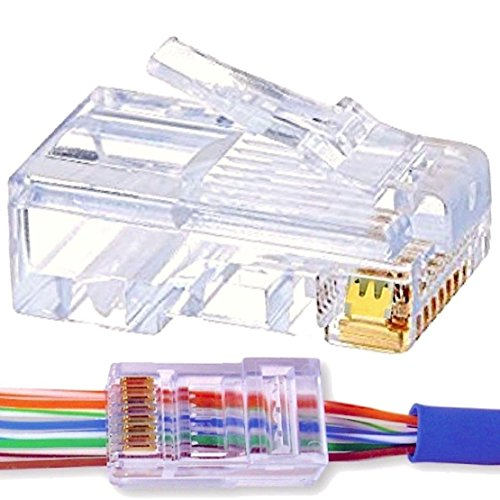50pc-improved-design-cat-6-ez-rj45-connector-advanced-triple-prong-gold-plated-crystal-clear-fast-ea