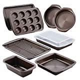 Circulon Nonstick Bakeware 10-Piece Bakeware Set, Chocolate Brown Deal (Small Image)