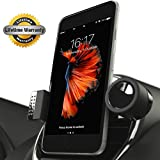 Luxury Car Cell Phone Mount Holder For Air Vents, 360° Rotation Fits All Smartphones Including iPhone X, 8, 7 | 7/8 Plus, 6, 6S, 5, 5S S | 6 Plus, 6S Plus | Galaxy S6, S7, S7 Edge, S8, Note 7