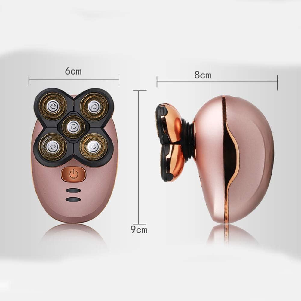 Depiladora Dama MáQuina de Afeitar Muda Depilacion de en Las Axilas Afeitadora EléCtrica Mujer,Pink: Amazon.es: Salud y cuidado personal