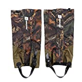 Vbestlife Snow Legging Gaiters,Outdoor Waterproof Hunting Leg Gaiters Leg Cover Wraps Snow Boot Gaiters for Camping Hiking Walking Climbing