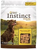 Nature's Variety Instinct Grain Free Biscuits Dog Treats – Chicken & Cranberries – 10 oz