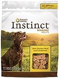 Nature's Variety Instinct Grain Free Biscuits Dog Treats - Chicken & Cranberries - 10 oz