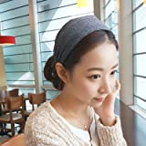 usongs Every day special winter knitting wide-brimmed cloth hair bands simply no good hair band hair jewelry hairpin