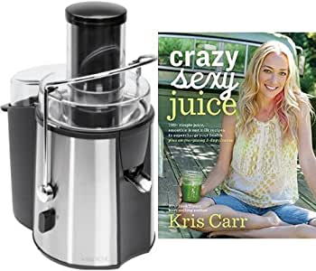 Licuadora con libro de zumos y smoothies (inglés): Amazon.es: Hogar