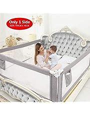 ZEHNHASE Barandilla de La Cama para bebés, Barrera de cama para niños Colchón doble, doble, tamaño completo tamaño queen y king