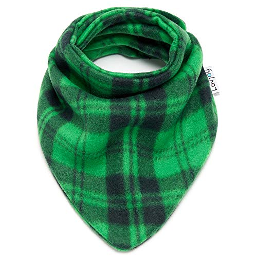 Baby Toddler Cute Warm Fleece scarf// Snood Soft /& Cozy Green Fits 6 months 3 Years More Designs For Boys /& Girls!