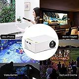 Best Mini Projectors - Mini LED Projector,1080P Portable Mini Home Theater Video Review
