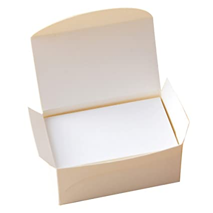 Lanlan 100pcs blank kraft paper double sided business cards word lanlan 100pcs blank kraft paper double sided business cards word card message card diy gift reheart Image collections