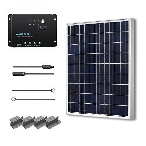 Renogy 100 Watts 12 Volts Polycrystalline Solar Starter (Polycrystalline Solar Panel)