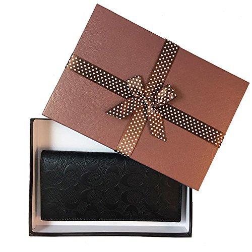 Coach Men's Signature Breast Pocket Wallet No Size (Black) ()